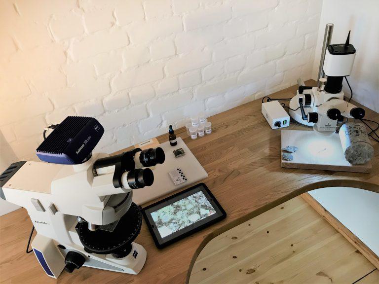 Schadensdiagnose mit Hilfe der Mikroskopie